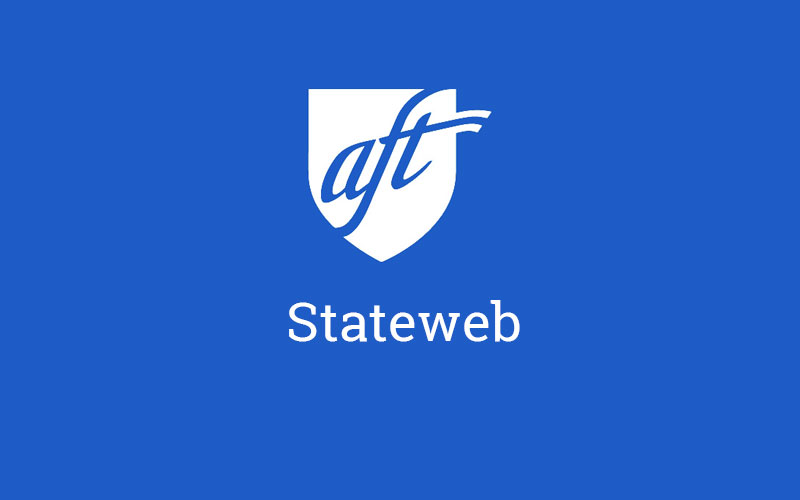 American Federation of Teachers (AFT) Stateweb teaser site screenshot