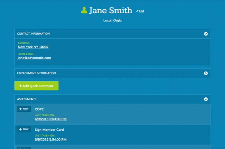 American Federation of Teachers (AFT) Mobile Toolkit desktop site screenshot