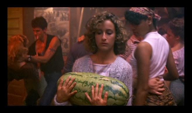 Baby w Watermelon
