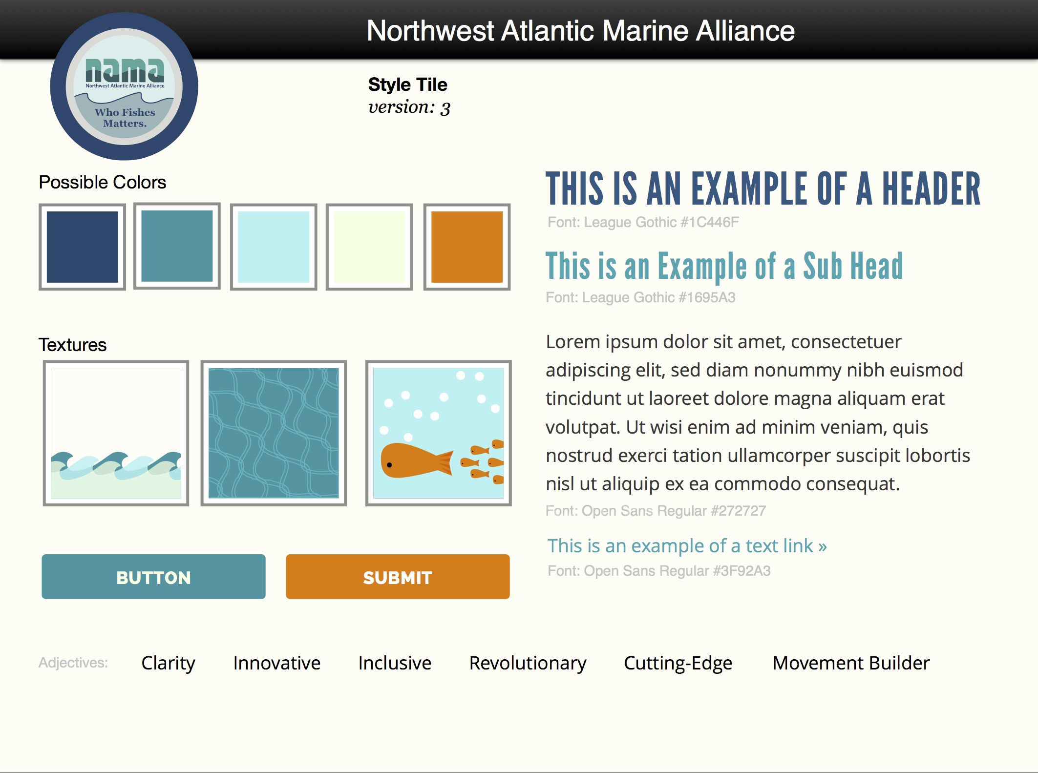 How We Built NAMA: Northwest Atlantic Marine Alliance