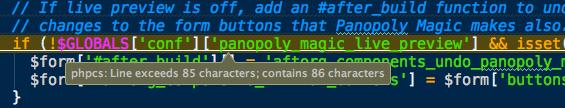 PHPCS error in phpStorm.