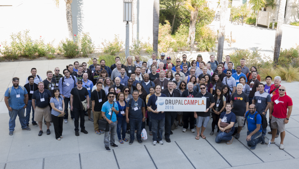 Drupalcamp LA group photo