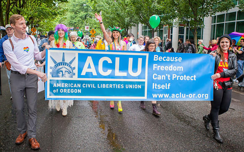 American Civil Liberties Union (ACLU) Affiliates teaser site screenshot