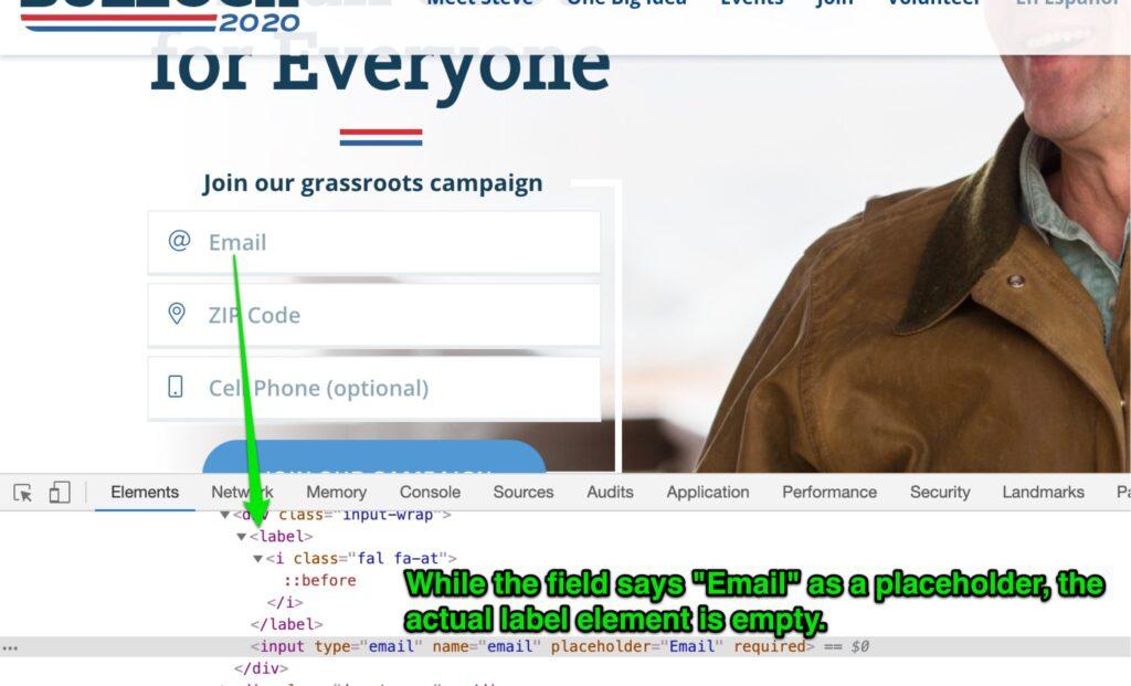 Bullock website screenshot