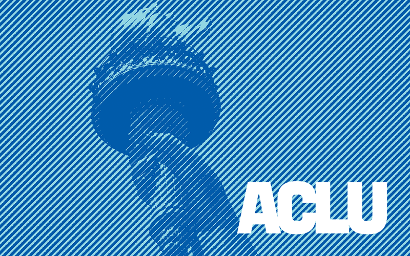 ACLU teaser site screenshot