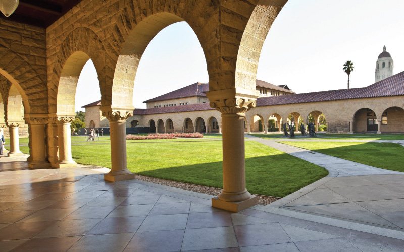 Stanford School of Humanities and Sciences teaser site screenshot